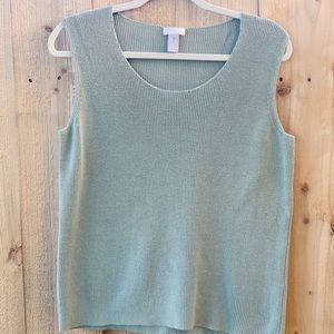 Chico's tank top size 2